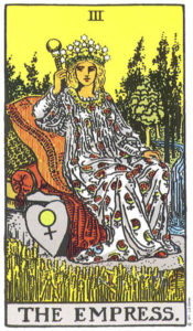 Tarot Rider Waite: The Empress 03