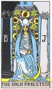 Tarot Rider Waite The High Priestess